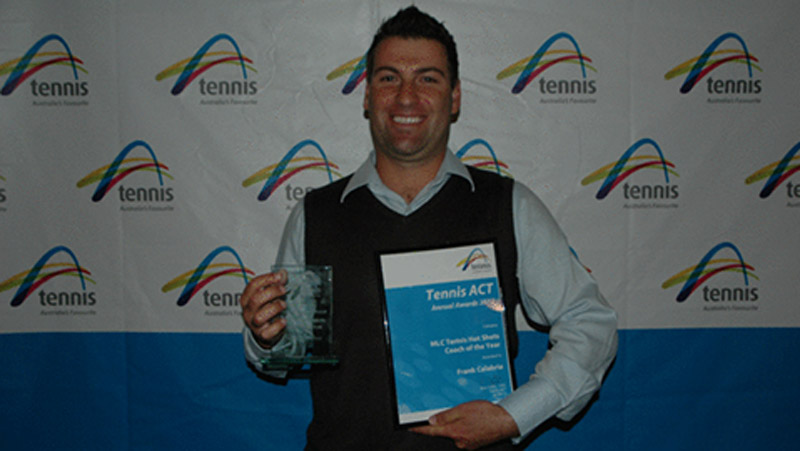 RSTA Coaches success at the 2012 Tennis ACT Annual Awards