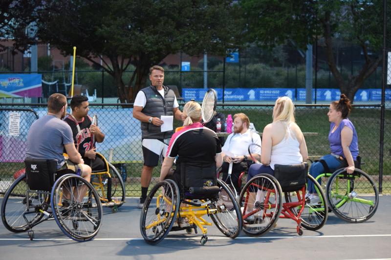 Wheelchair Tennis Program